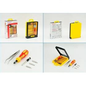 Jackly 33 In 1 Precision Screwdriver Professional Repai Diskon jackly 33 in 1 precision screwdriver professional repair tool kit jk 6032b jakartanotebook