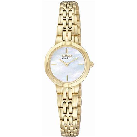 citizen eco drive ex1092 57d s gold tone bracelet