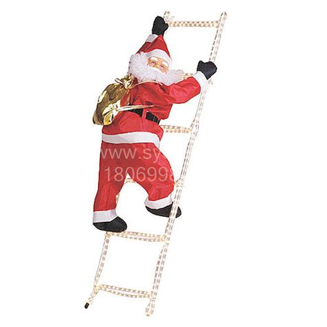 climbing santa ladder christmas decoration sale 90cm climbing ladder santa claus buy climbing santa claus with rope