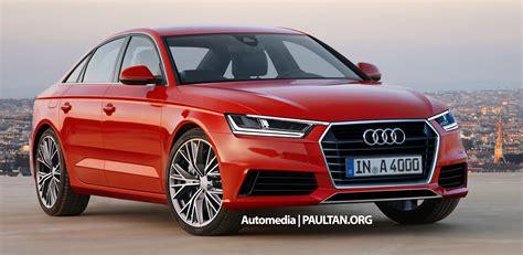 Audi A4 B9 2015 by 2016 Audi A4 B9 Confirmed For 2015 Frankfurt Show