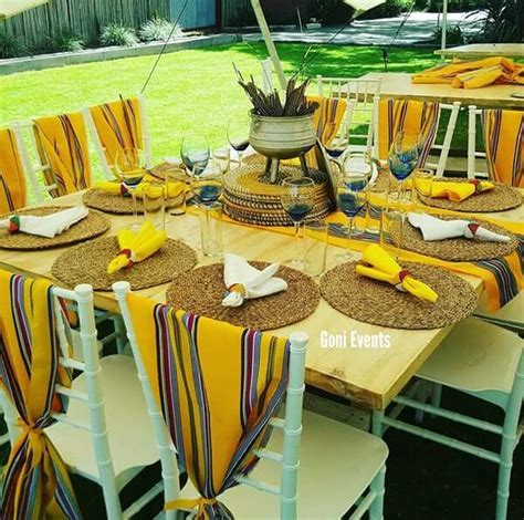 Yellow Venda Traditional Wedding Decor   Clipkulture