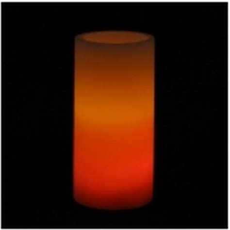 Led Candle Aa Hj 0001 buy flickering and or color changing single 6 quot real wax led pillar candle with 3 way switch item