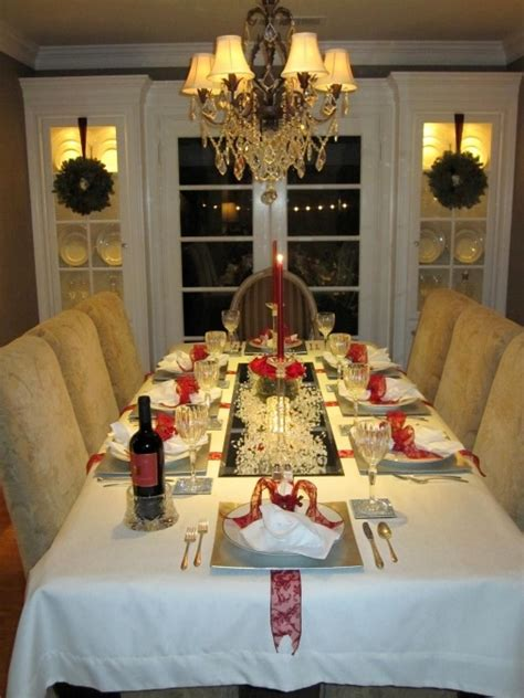 christmas table setting christmas table decorations entertaining ideas party