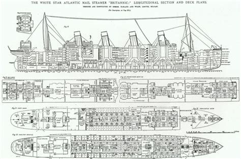 titanic boat design acidadebranca hmhs britannic the forgotten sister