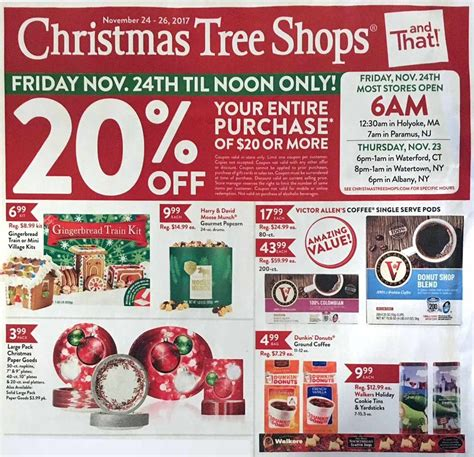christmas tree shops black friday 2018 ads deals and sales