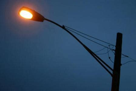 who do you call when the street light is out do brighter street lights make you safer from