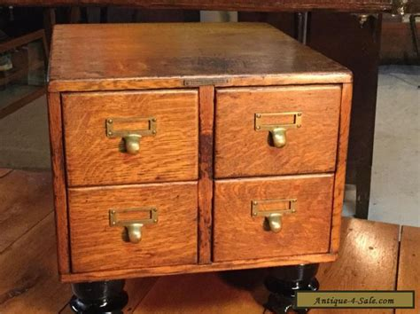 library card file cabinet for sale antique 4 drawer tiger oak table top library card file