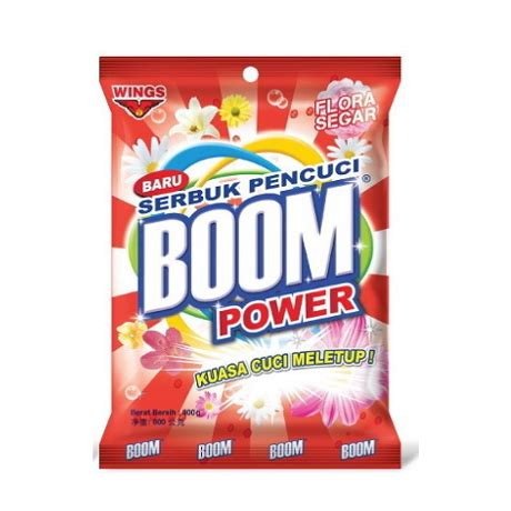 Sabun Boom boom power fora segar detergent reviews