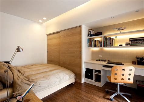 Modern Minimalist Decor With A Homey Flow Compact Bedroom Design Ideas