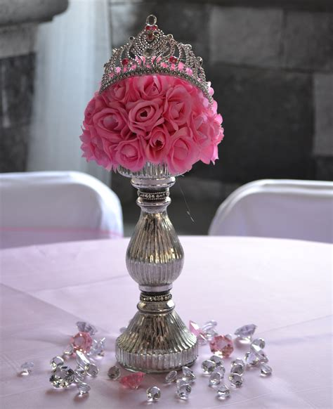 royal princess party centerpiece royal theme baby shower