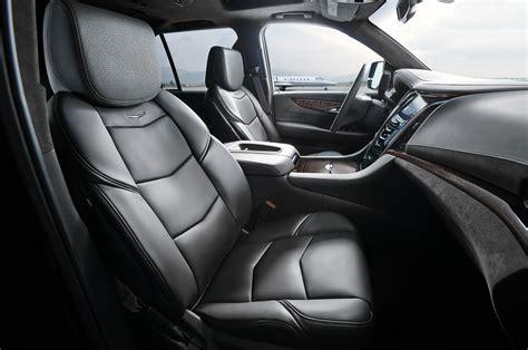 Cadillac Escalade 2015 Interior by 2015 Cadillac Escalade Platinum To Start At 90 270