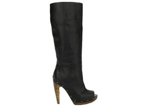 a and shoes marni knee high peep toe boot