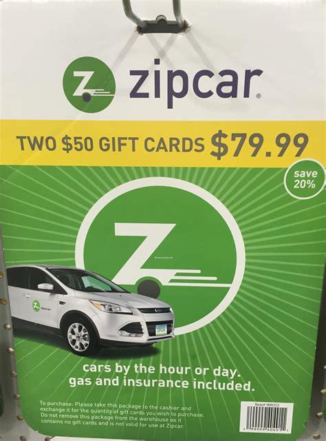 Zip Car Gift Card - zipcar discount via giftcard harvey cares