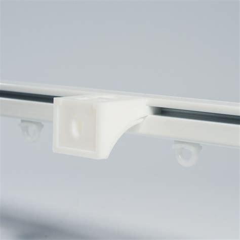 gordijnrails 5 meter praxis sf luxe aluminium gordijnrails wit ral 9010