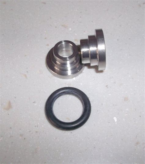 Spacer 8mm spherical bearing spacer titanium 8mm id classic
