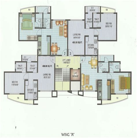 560 sq ft 560 sq ft 1 bhk 2t apartment for sale in sagar residency