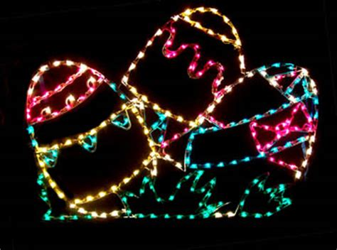 outdoor lighted easter decorations