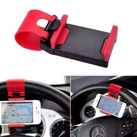 universal smart clip car steering wheel phone holder mount efizzle