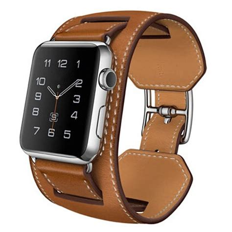 New Color Apple Woven Band Iwatch Series 1 2 3 1 1 original design cuff bracelet leather band for apple