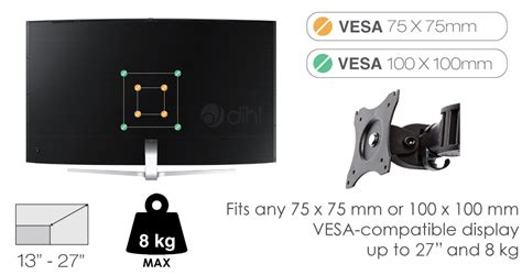 non vesa monitor desk mount single arm desk mount lcd led computer monitor bracket