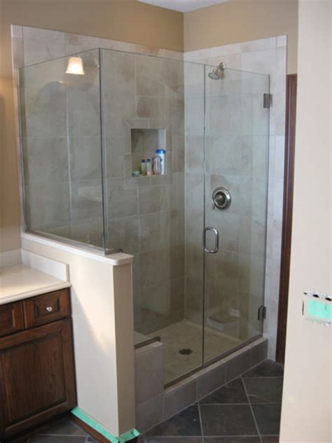 Showers Vs by Custom Shower Doors Frameless Vs Semi Frameless Worth