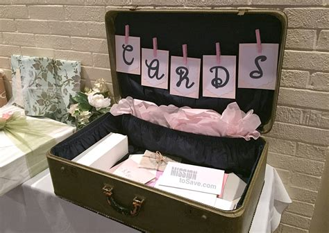 Make Your Own Card Box Wedding Reception