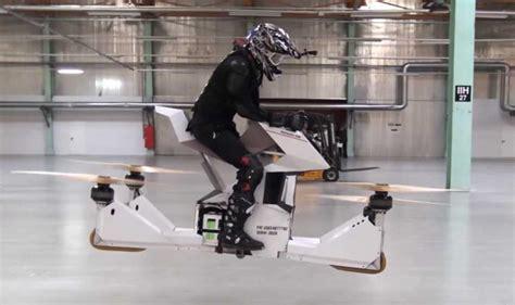 droni volanti hoverbike une moto drone volante comme dans wars