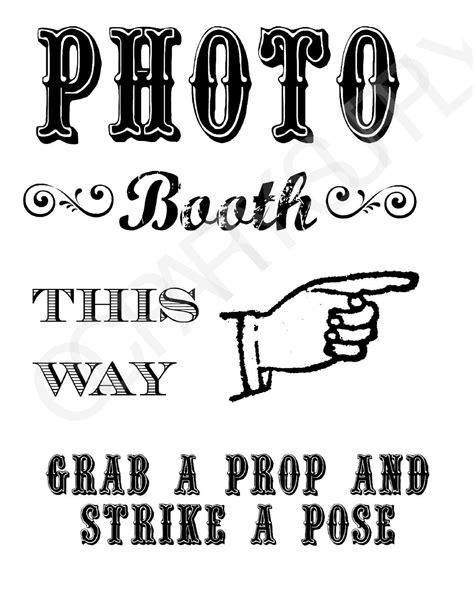 Grab A Prop Strike A Pose Free Printable Photo Booth Sign Photo Booth Free Printables Free Printable Photo Booth Sign Template