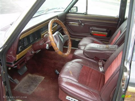 jeep wagoneer interior 1988 jeep grand wagoneer 4x4 interior photo 50615634