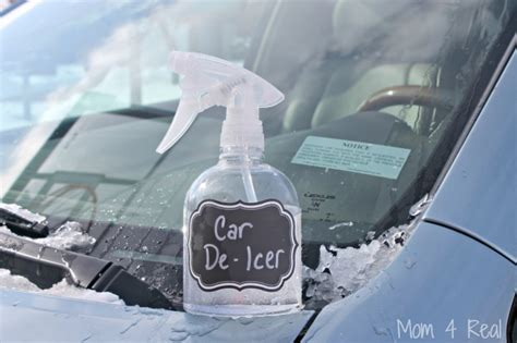 2 ingredient car de icer spray removes in