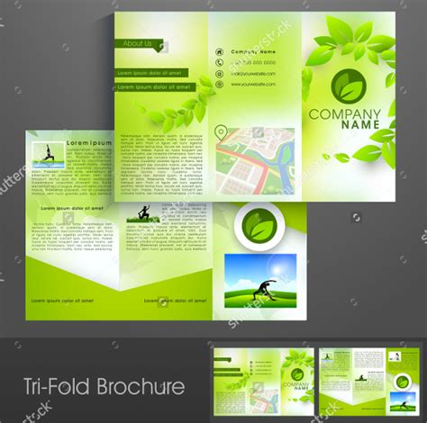 18 yoga brochures free psd ai eps format download