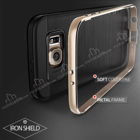 Verus Galaxy S6 Iron Shield verus iron shield samsung galaxy s6 titanium k箟l箟f