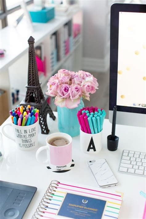 Girly Office Desk Accessories Girly Office Desk Accessories Home Design