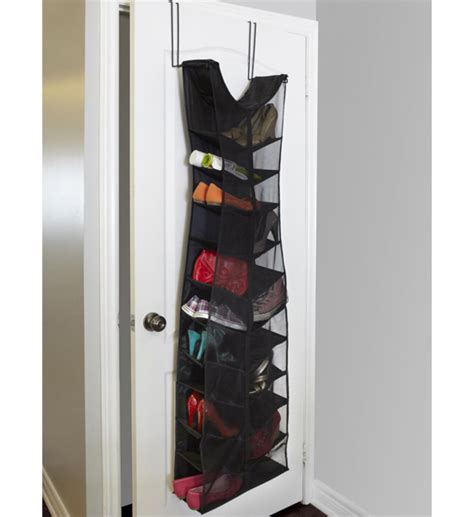 door shoe organizer over the door shoe organizer black dress in over the