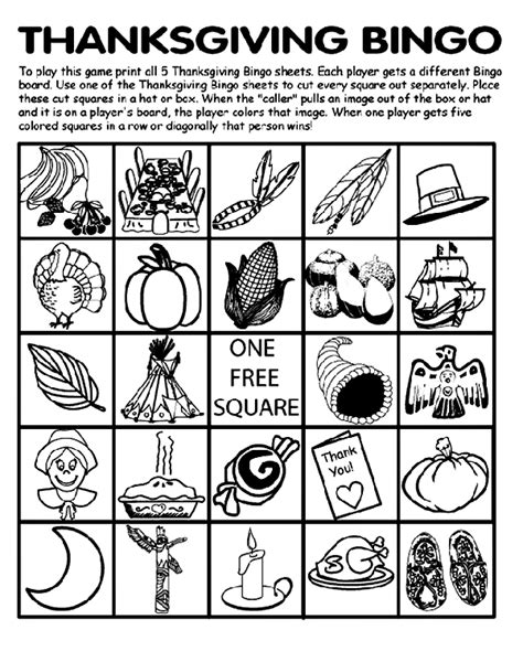 crayola thanksgiving coloring pages printables thanksgiving bingo board no 2 coloring page crayola com