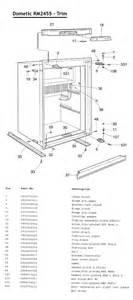 refrigerator parts dometic refrigerator parts diagram