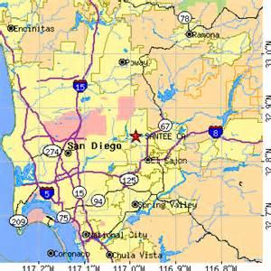 santee california ca population data races housing