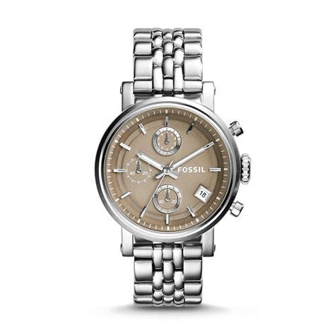 Fossil Me3065 Original Boyfriend original boyfriend chronograph stainless steel fossil