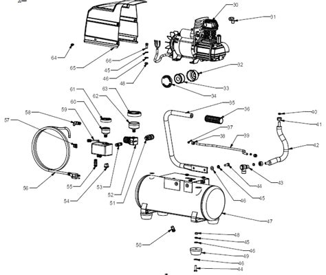 sears craftsman 921 153620 air compressor parts