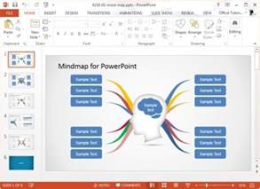 mind map template powerpoint concept map templates for powerpoint