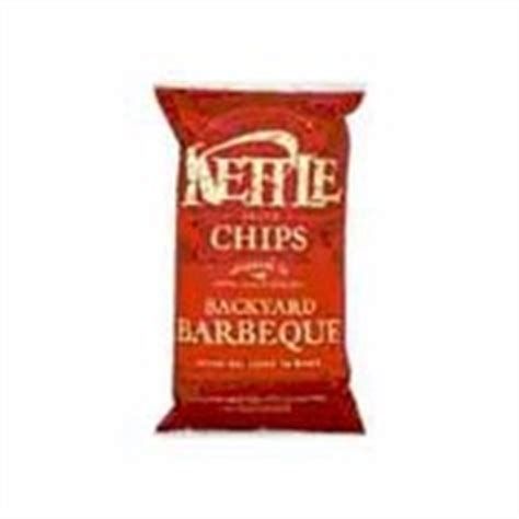 kettle chips backyard barbeque calories nutrition