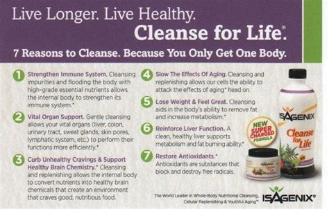 Regenerative Nutrition Cell Detox by 37 Best Isagenix Images On Healthy