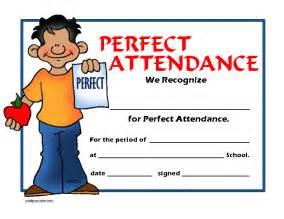 Fort braden school perfect attendance guidelines