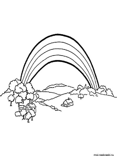 rainbow bridge coloring page rainbow bridge page coloring pages