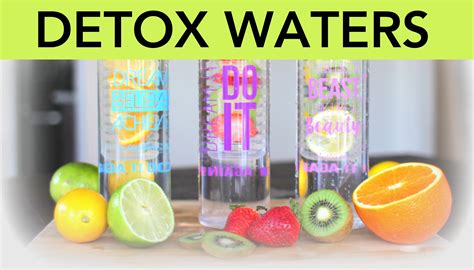 Where To Get Detox For by 3 Detox Water Recipes For Flushing Anti Aging And
