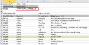 What Is A Lookup The Vlookup Feature In Excel Jyler