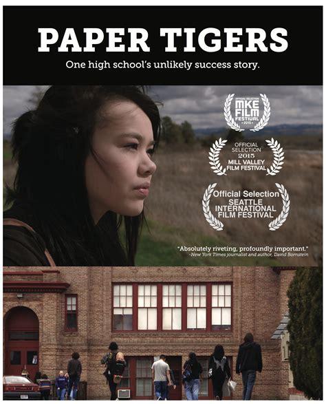 Paper Tiger april 20 paper tigers screening communities foundation