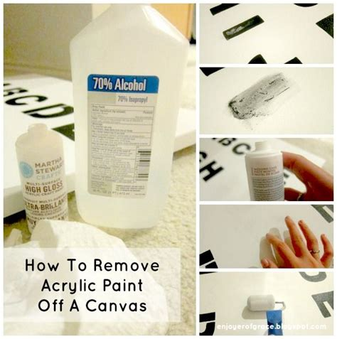 How To Remove Acrylic Paint From Canvas Wise Guys
