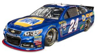 Hendrick Chevrolet Parts Elliott Hendrick Unveil 2016 No 24 Napa Auto Parts Chevy
