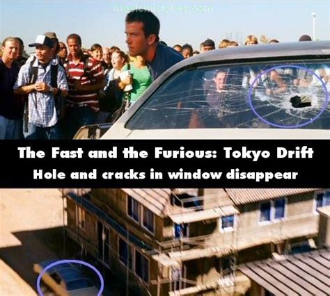 fast and furious mistakes the fast and the furious tokyo drift 2006 movie